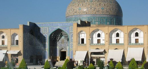 Sheikh lotfallah mosque - isfahan tours